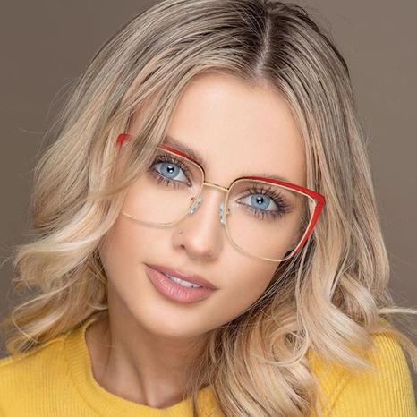 Mode Metall Anti-Blau-Lichtrahmen Brille Großhandel NHFY333383's discount tags