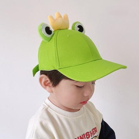 Baseballmütze der koreanischen Froschkinder NHQU333395's discount tags