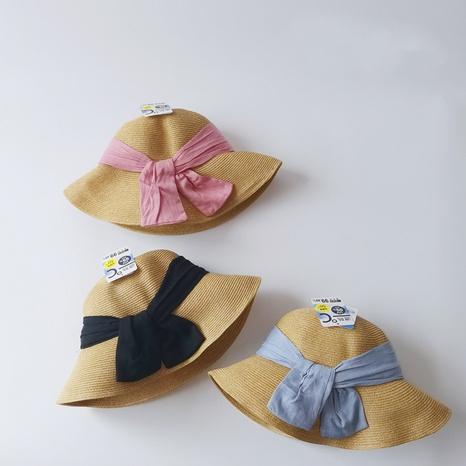 chapeaux de pêcheur pour enfants à nœud simple NHQU333408's discount tags