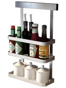 Perforated stainless steel wallmounted racks NHZHC333437