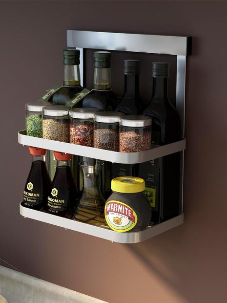 Lochfreie Küchenregale aus Edelstahl NHZHC333439's discount tags