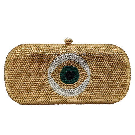fashion flat-bottom colorful diamond clutch bag NHJU333459's discount tags