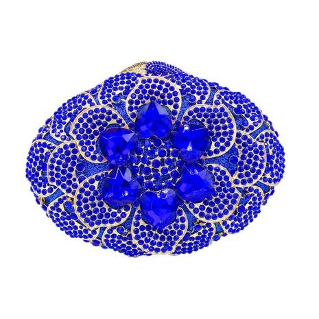 retro oval flower pattern rhinestone clutch bag  NHJU333464's discount tags