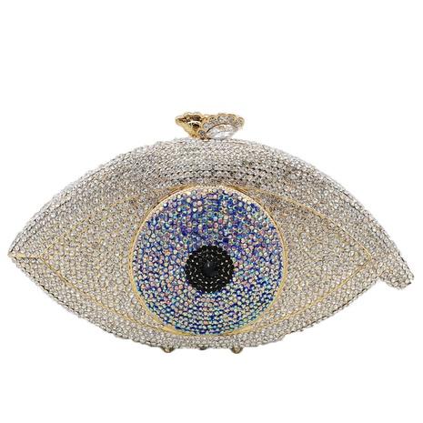 Retro Eye Shape Rhinestone Clutch Bag NHJU333467's discount tags