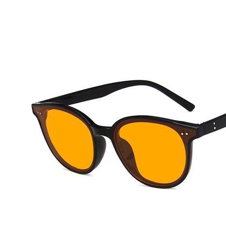 Koreanische gelbe Sonnenbrille Großhandel NHKD333375's discount tags