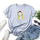 cartoon pattern printing casual tshirt NHZN333877