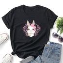 cartoon animal print casual tshirt NHZN333874
