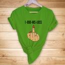 fashion finger printed Tshirt  NHZN333872