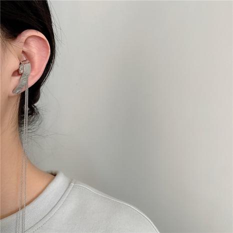 Fashion metal lava single long tassel alloy earrings  NHYQ347863's discount tags