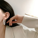 fashion freshwater pearl large hoop earrings  NHYQ347895