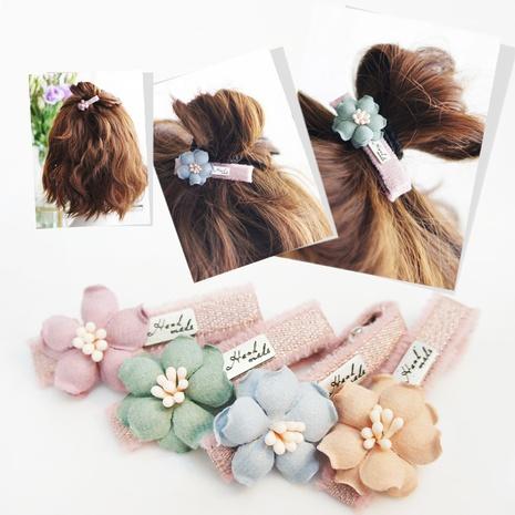 Nuevas horquillas de flores dulces lindas de estilo coreano NHAYP348046's discount tags