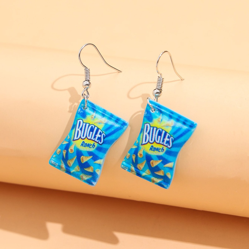 Fashion Creative Resin Simulation Snacks Earrings NHPV348373