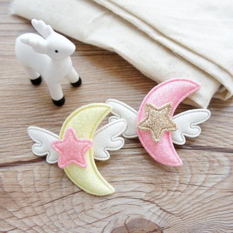 linda caricatura coreana luna niños alas de ángel horquilla NHAYP348982's discount tags