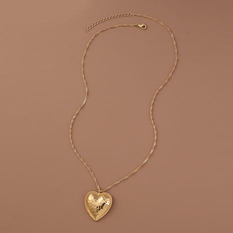 Collier en alliage de mode en forme de coeur en gros NHAN349016's discount tags