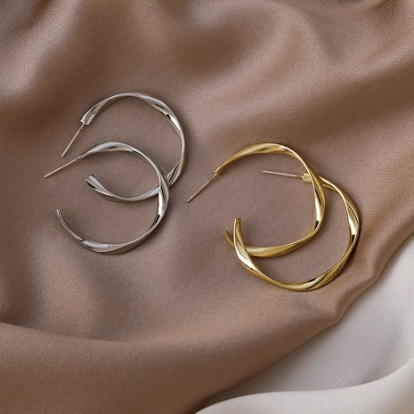 Ensemble de boucles d'oreilles en alliage géométrique de style coréen NHMS349071's discount tags