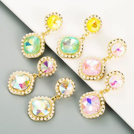 pendientes de perlas geométricas de nuevo color de estilo de moda coreana NHLN349125's discount tags