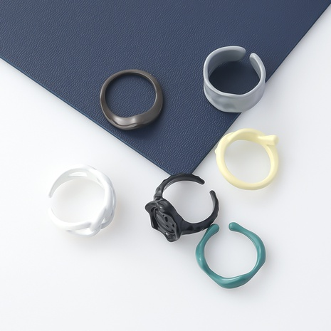 bague en alliage géométrique de style nouveau NHJE349133's discount tags