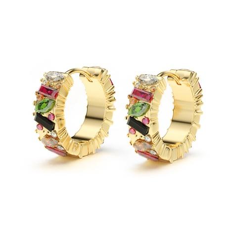 Pendientes de círculos geométricos de nueva aleación de moda de Corea NHJQ349160's discount tags