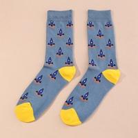 korean fashion new style Blue Rocket Men's Socks NHNU349224