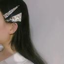 Retro metal triangle hairpin twopiece   NHANR349276
