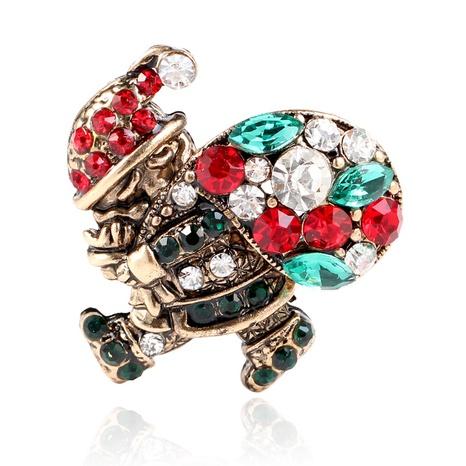 Mode kreative Weihnachtsmann Geschenk Brosche NHKQ349494's discount tags