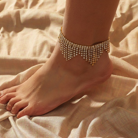 fashion exaggerated simple claw chain anklet NHKQ349502's discount tags