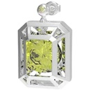 fashion zircon colored gemstones hollow design earrings bracelet NHYQ349526
