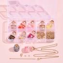 fashion Fruit Pendant Resin Accessories DIY Material Box NHLL349607