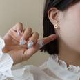 NHOK1617064-A-pair-of-golden-multi-leaf-stud-earrings