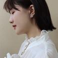 NHOK1617066-A-pair-of-steel-multi-leaf-cluster-earrings