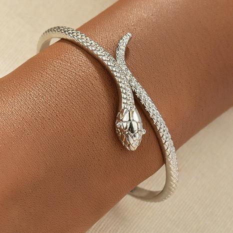 wholesale simple metal snake bracelet  NHGU349743's discount tags