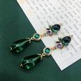 NHOM1617287-Long-Green-925-Silver-Needle-Stud-Earrings