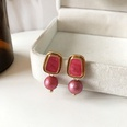 NHBY1617701-Pair-of-red-ear-studs