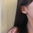 simple heart drop oil hit color earrings   NHBY349887
