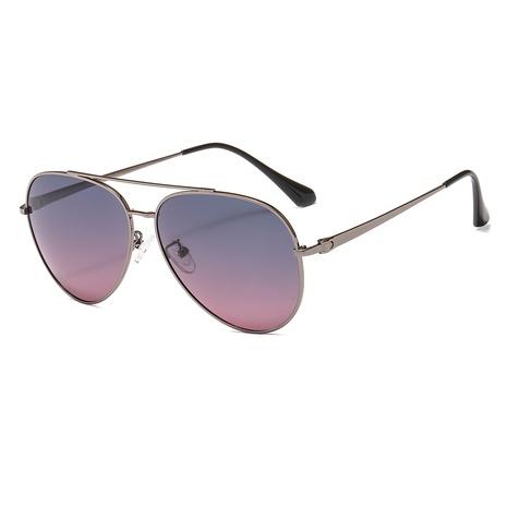 estilo de moda nuevas gafas de sol geométricas simples polarizadas NHLMO350235's discount tags