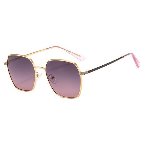 Nuevo estilo de moda Gafas de sol polarizadas de metal de moda NHLMO350249's discount tags