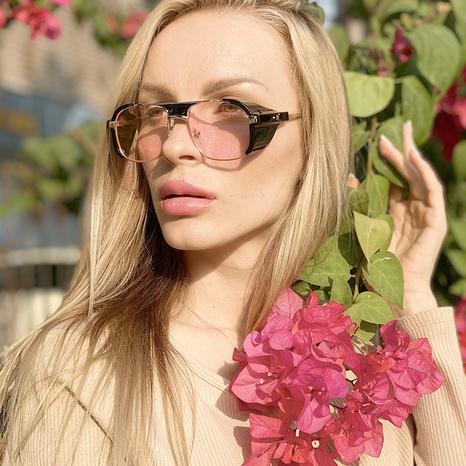 estilo de moda nuevas gafas de sol retro simples NHLMO350251's discount tags