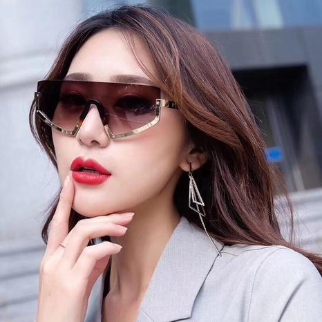 gafas de sol con montura de una pieza de estilo simple de nueva moda NHLMO350255's discount tags