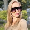 korean fashion new printed frame sunglasses  NHLMO350256
