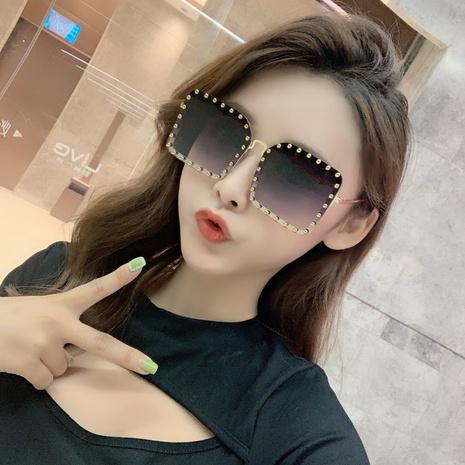 nuevas gafas de sol cuadradas de estilo de moda coreana NHLMO350264's discount tags