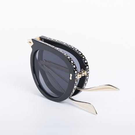 neue Diamant-Sonnenbrille im Modestil NHLMO350267's discount tags