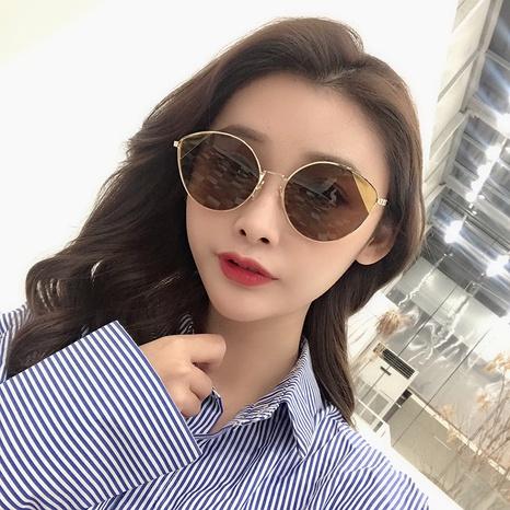 gafas de sol de ojo de gato de estilo simple de nueva moda NHLMO350270's discount tags