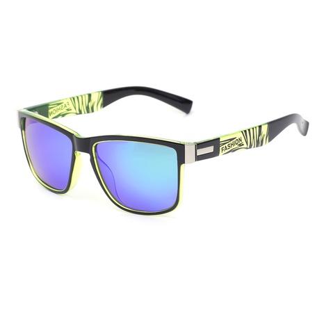 nuevas gafas de sol cuadradas con estampado simple de estilo de moda NHLMO350286's discount tags