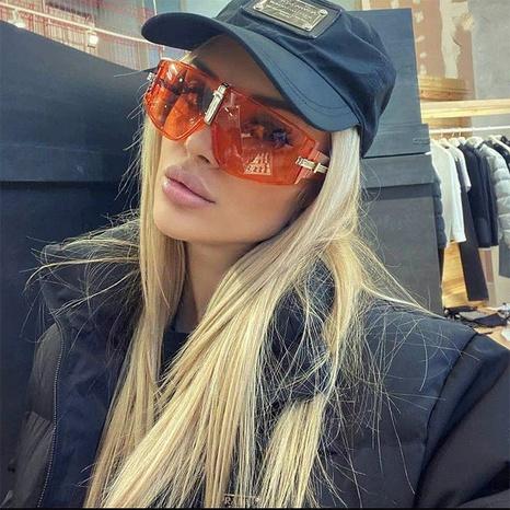 estilo de la moda coreana nuevas gafas de sol de montura grande NHLMO350306's discount tags