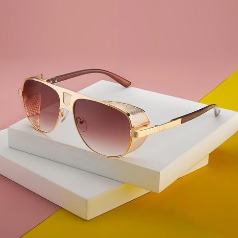 Nuevas gafas de sol estilo steampunk de estilo retro de moda NHLMO350322's discount tags