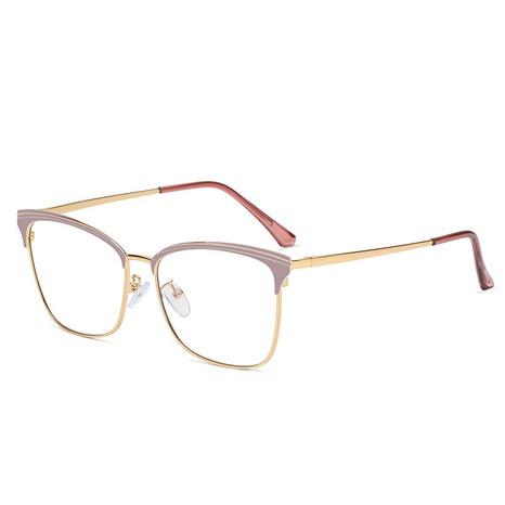 Gafas con montura de espejo plano anti-Blu-ray de moda NHFY350154's discount tags