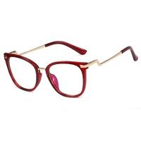 Fashion full frame flat mirror anti-blue glasses NHFY350155