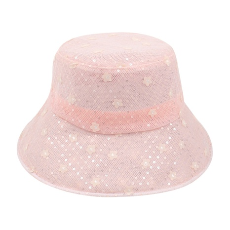 Fashion breathable mesh flower sunshade fisherman hat  NHXO350229