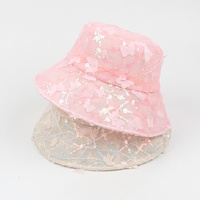Fashion breathable foldable butterfly sunshade sunscreen fisherman hat NHXO350228