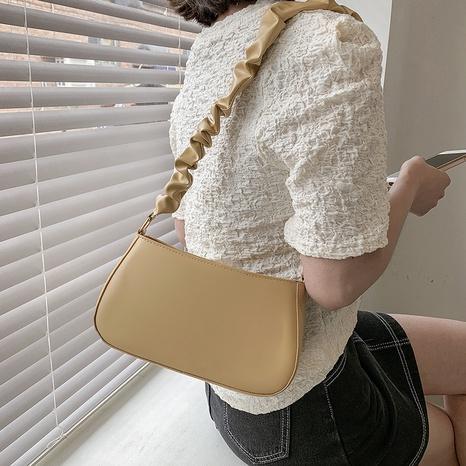 Mode einfarbige Schulter Messenger kleine quadratische Tasche NHRU350486's discount tags